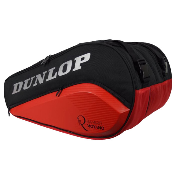 Dunlop Paletero Elite Thermo Padel Bag Black Red