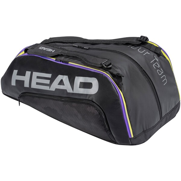 Head Tour Team 12R Monstercombi Racket Bag 2021 Black Purple