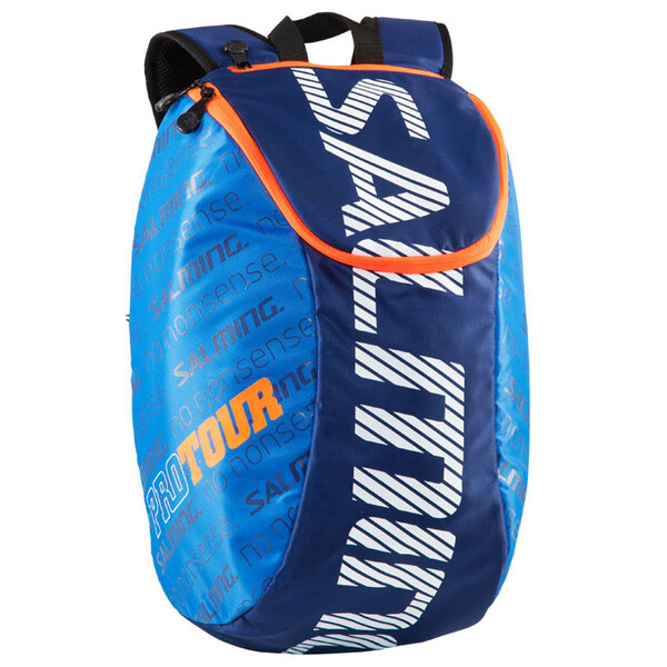 Salming Pro Tour Backpack 18L Navy Orange