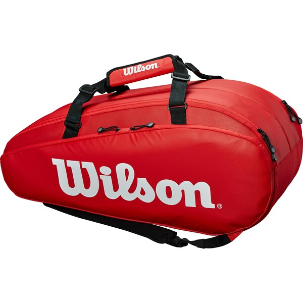 Wilson Tour 9 Racket Bag Red