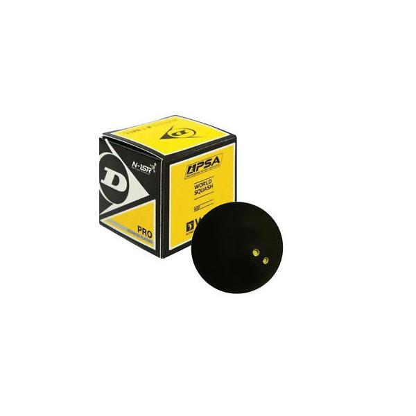 Double Yellow Dot Eye Squash Balls