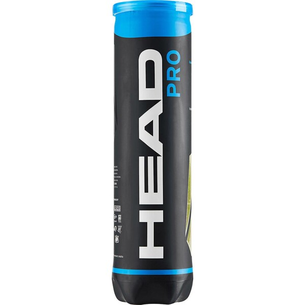 Head Pro Tennis Balls - 1 Tube