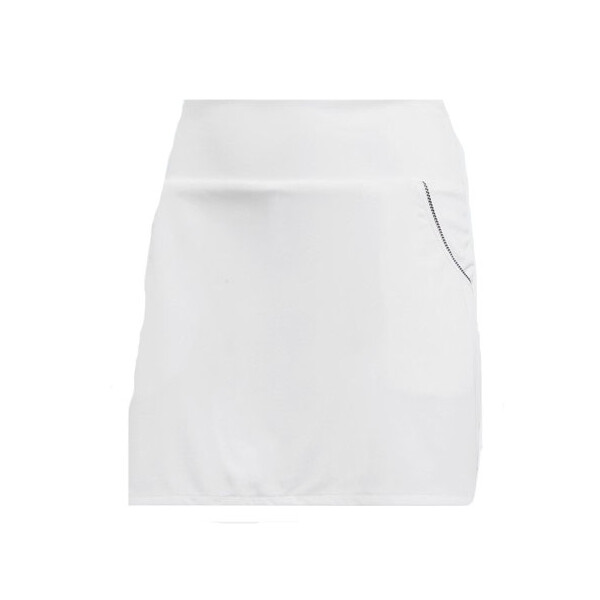 Adidas Girl's Club Skirt White
