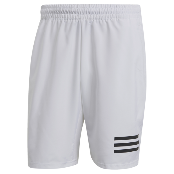 Adidas Men's Club 3 Stripe Short White