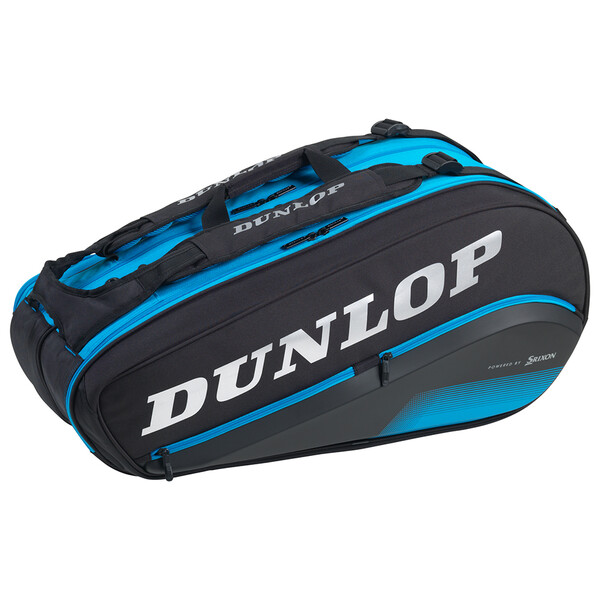 Dunlop FX Performance Thermo 8 Racket Bag Black Blue