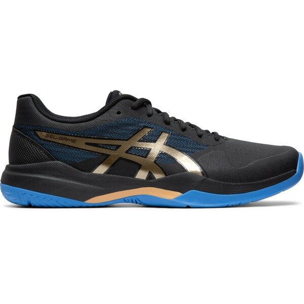 Asics Gel Game 7 Men's Tennis Shoes Black Champagne