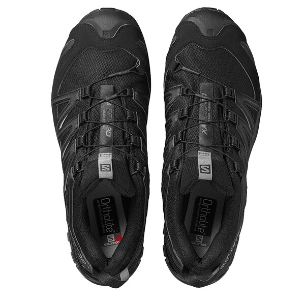 SALOMON Xa Pro 3D Gtx Mens Walking Shoes Black Size UK 12 US 12.5 *REFCRS84