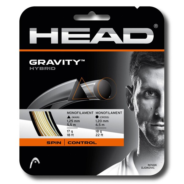Head Gravity Hybrid Tennis String Set