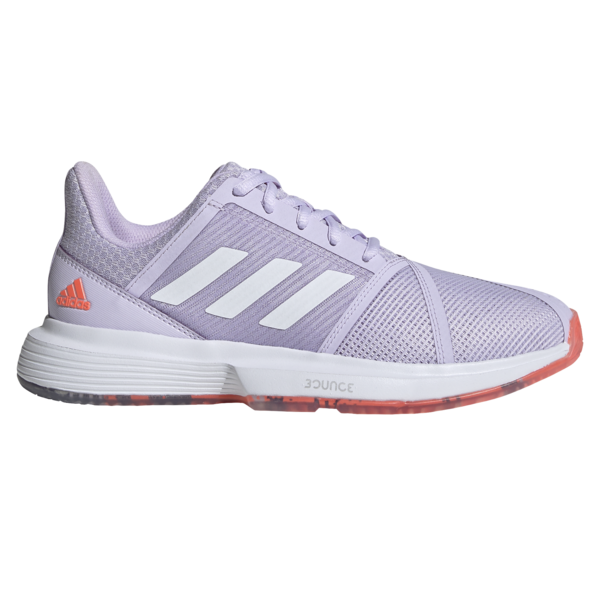 Adidas CourtJam Bounce Women's Tennis Shoes Coral
