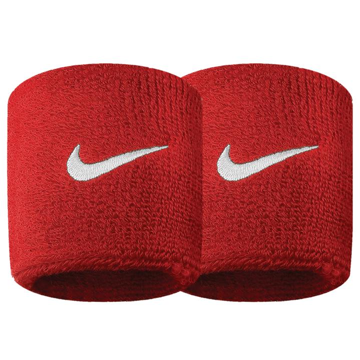 new style c54fc b7e9f Nike Swoosh Wristband - Varsity Red White ACNI3006