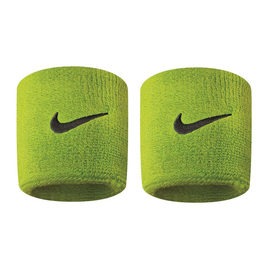 newest c652b 588df Nike Swoosh Wristbands - Atomic Green AWNI8340