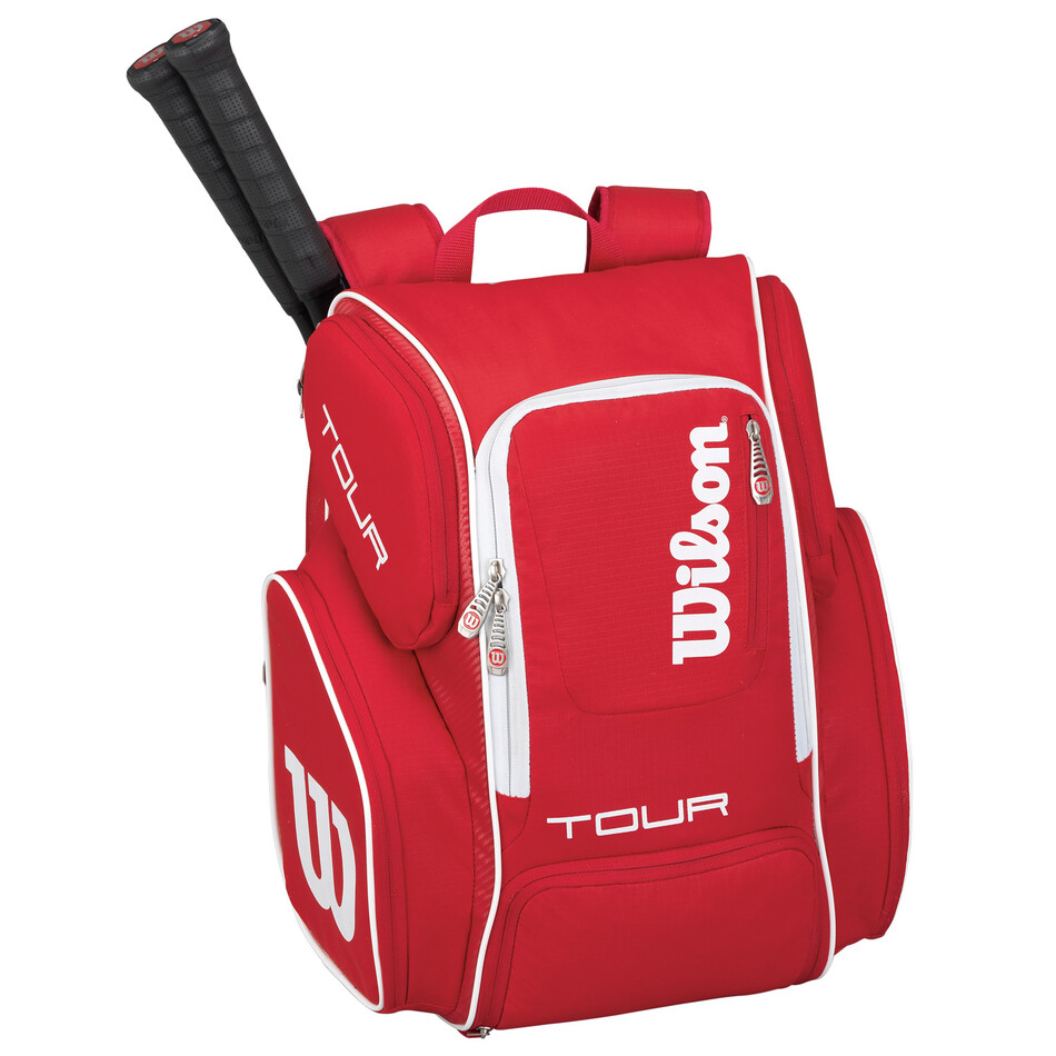 e470582901 Wilson Tour V Backpack Large Red Great S Pdhsports