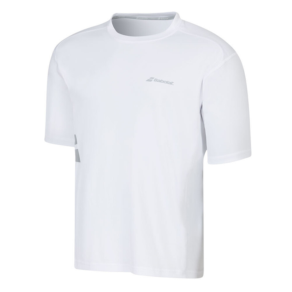 0304fc48 Babolat Core Flag Club Boy Tee White | Great Discounts - PDHSports