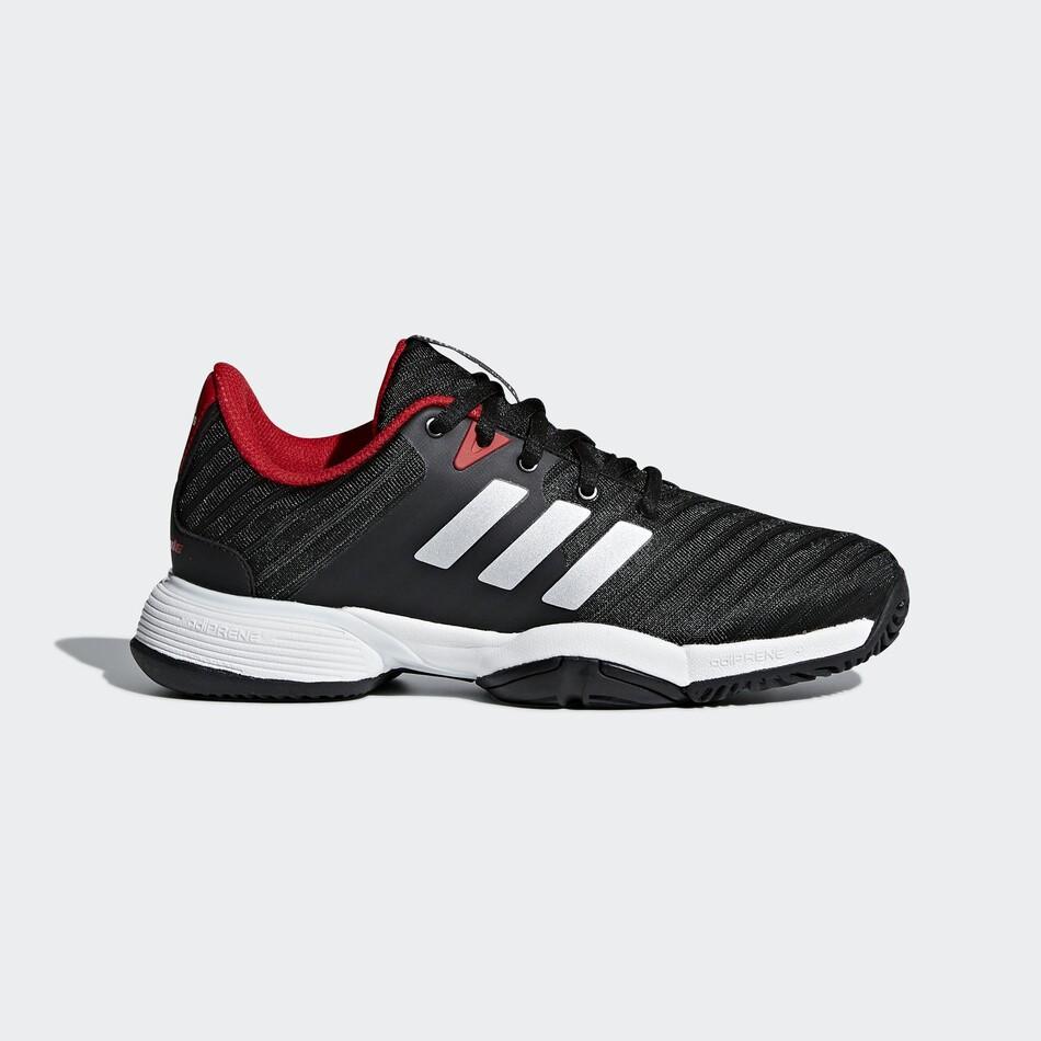 Adidas Barricade XJ Junior Tennis Shoes Core Black SJAD11047 850d3818918