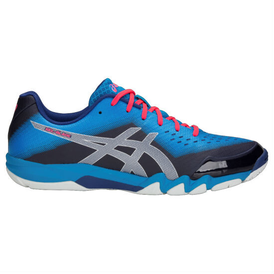 0e36c598eabb Asics Gel Blade 6 Men s Shoes Blue Print Silver SMAC12634
