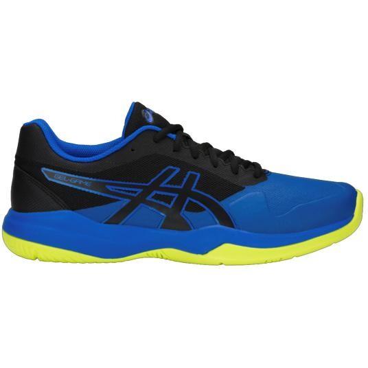 size 40 03148 8438b Asics Gel Game 7 Men s Tennis Shoes Black Illusion Blue SMAC13965