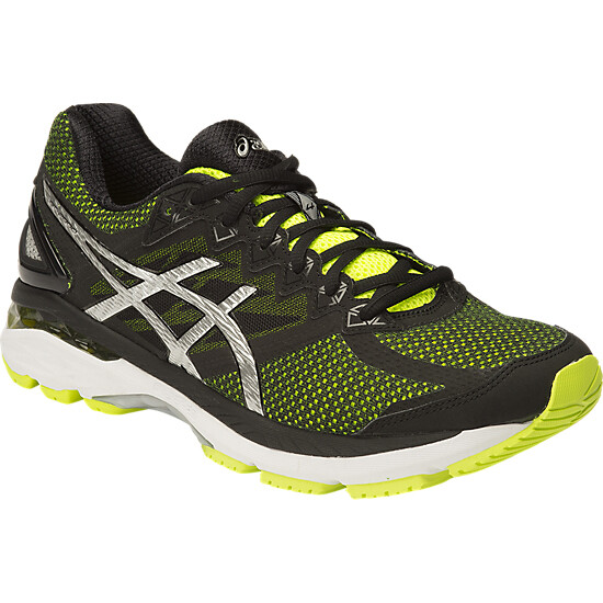 Asics GT-2000 4 Men s Running Shoes Flash Yellow Black Silver SMAC7003 5629e66820
