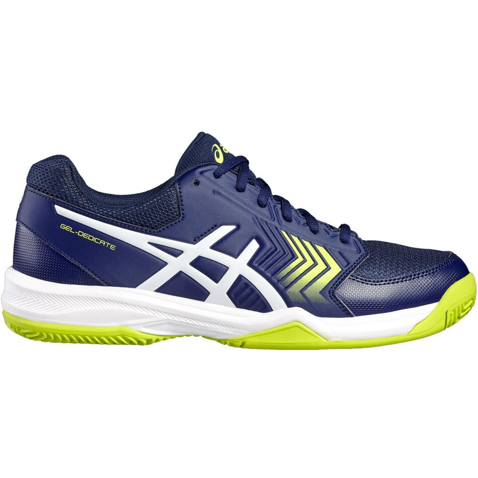 4816211c66c8 Asics Gel Dedicate 5 Men s Tennis Shoes Indigo Blue SMAC8474