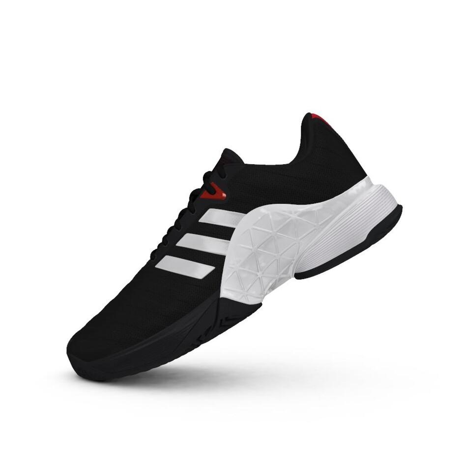 Adidas Mens Barricade Tennis Shoes Core Black