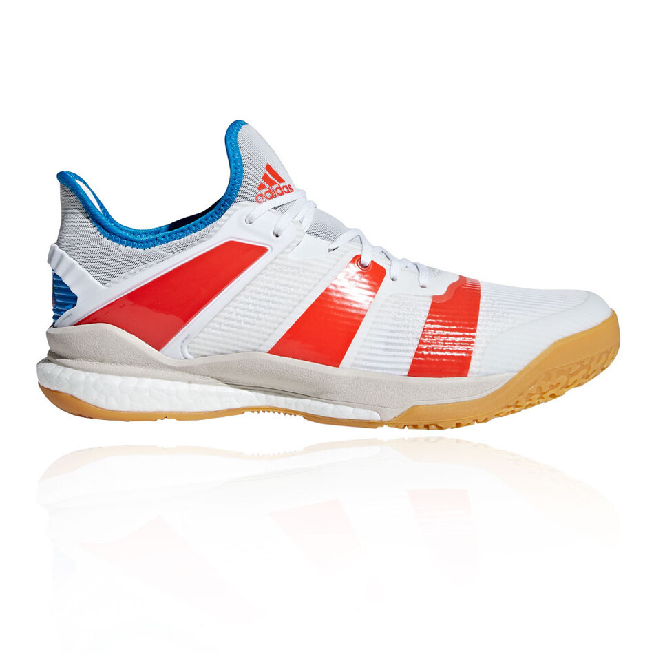4ba747cce Adidas Stabil X White Men s Indoor Shoes