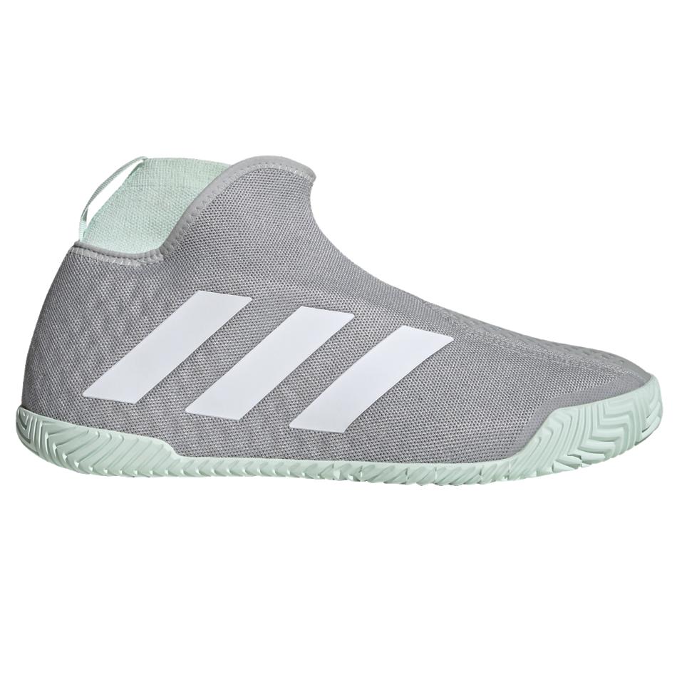 Laceless Tennis Shoes Grey