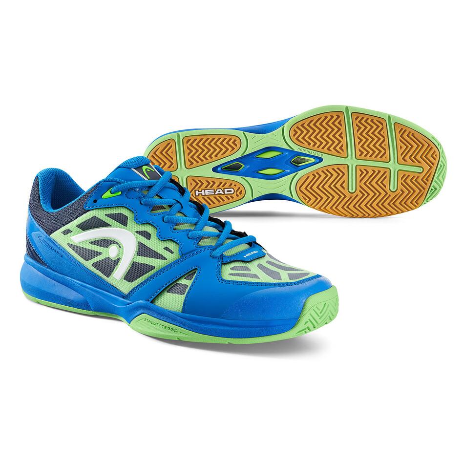size 40 6d53c e1813 Head Revolt Indoor Court Shoes Blue Green