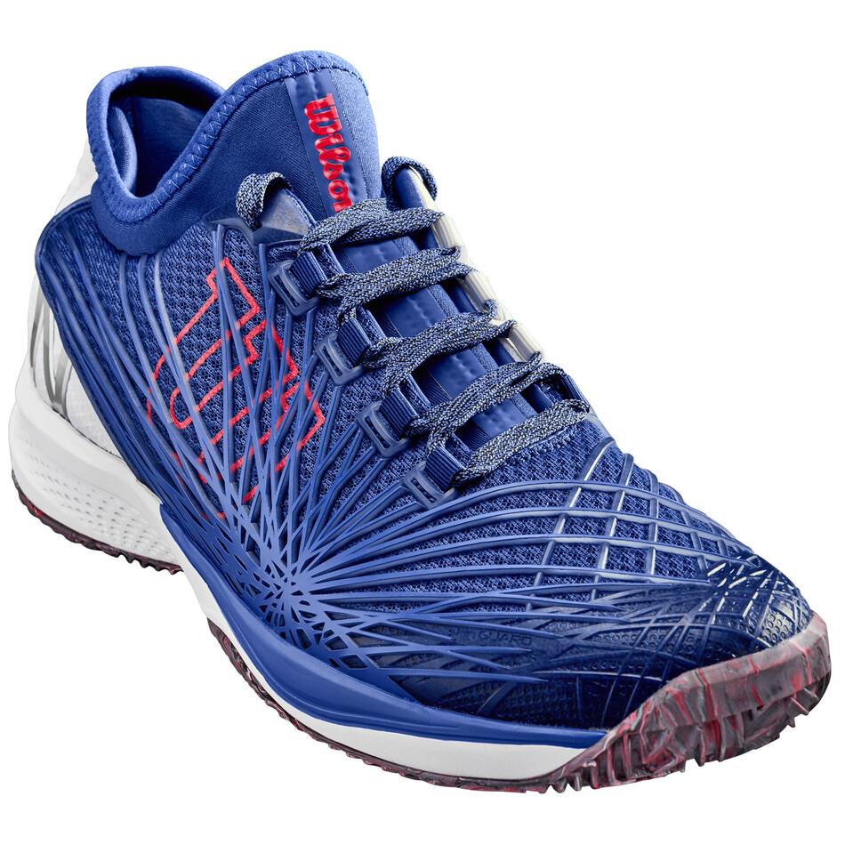 42c66f00914f3c Wilson Kaos 2.0 Soft Clay Court Maz Blue Men's Tennis Shoes | Great ...