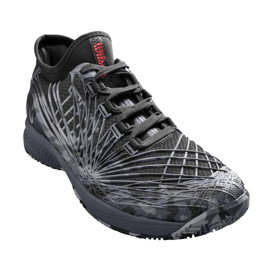 c1e75647e016 Wilson Kaos 2.0 SFT Camo Black Ebony Quiet Shade Tennis Shoes SMWI12432