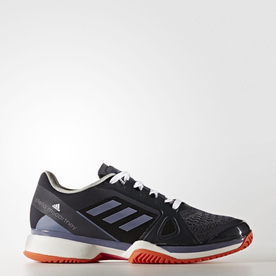 0df3bc089e231c Adidas Womens SMC Barricade Tennis Shoes - Legend Blue