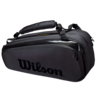 Wilson Super Tour Pro Staff 9 Racket Bag Black