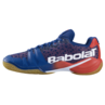 Babolat Shadow Tour Men's Indoor Shoes Estate Blue Orange No Box